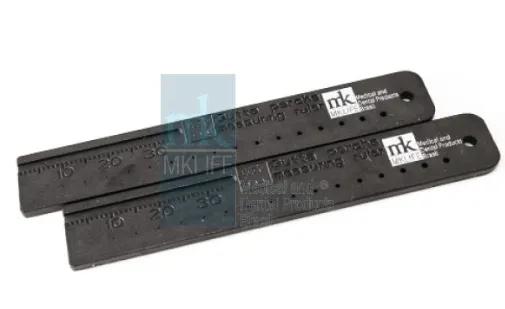 Régua Calibradora Plástico - MkLife  -  Dental Paiva