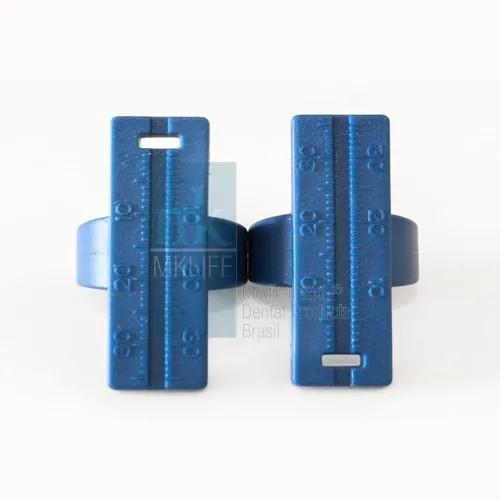 Régua Milimetrada Anel - MkLife  - Dental Paiva