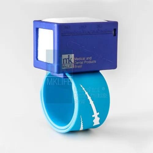 Régua Milimetrada c/ Tamborel para Pulso - MKLife  -  Dental Paiva