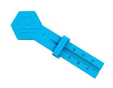 Régua Milimetrada Plastico Endofit - Indusbello  -  Dental Paiva