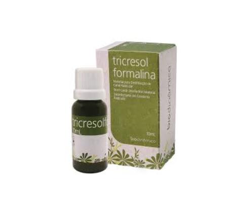 Tricresol Formalina - Biodinâmica  -  Dental Paiva