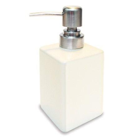 Porta Sabonete líquido em porcelana