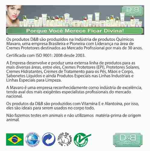 Protetor Solar Fps30 Ganhe Hidratante Karité & Cupuaçu D&B