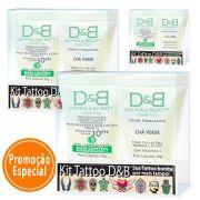 Tattoo Protetor Solar FPS30 Divina & Beauty 3 Kits
