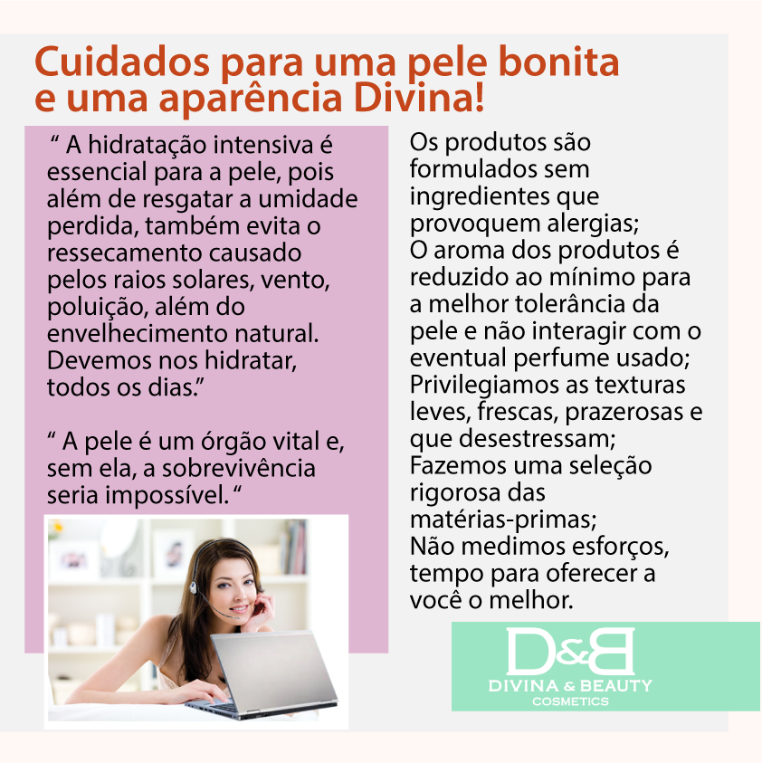 Creme Hidratante Corporal Chá Verde Divina & Beauty 30g + Necessáire prata