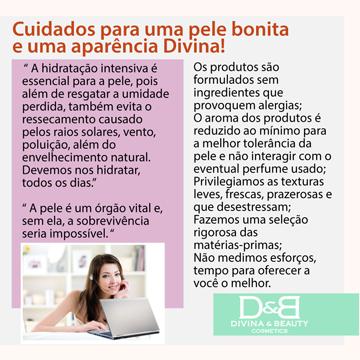 HidratanteChá Verde Divina & Beauty mini-Bisnaga prática para bolsa e necessáire com 30g