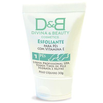 Esfoliante e Pós-Esfoliante para os Pés com Vitamina E