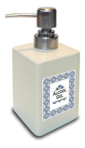 Porta ÁlcoolGel em porcelana