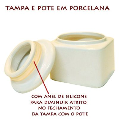 Pote multi-uso em porcelana  Promoção 2 Unidades