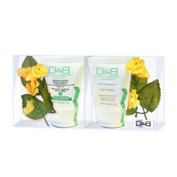 Protetor Solar e Creme Hidratante Presente Two Flowers D&B