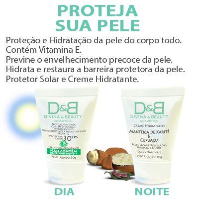 Protetor Solar Esporte Atletismo Divina & Beauty 3 Kits