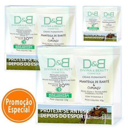 Protetor Solar Esporte Equitação Divina & Beauty 3 Kits