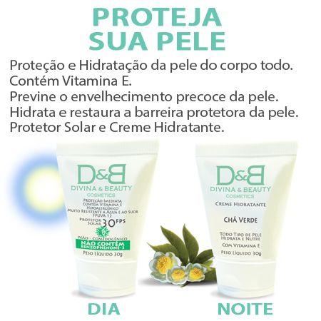 Protetor Solar Esporte Golfe Divina & Beauty 3 Kits