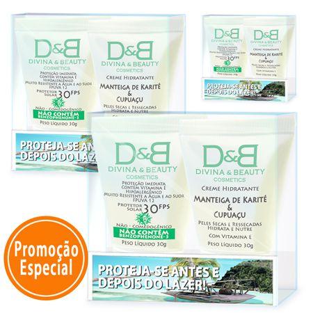 Protetor Solar Lazer Divina & Beauty 3 Kits