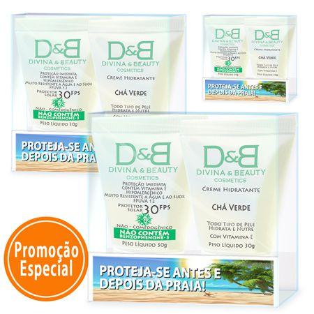 Protetor Solar Praia Divina & Beauty 3 Kits