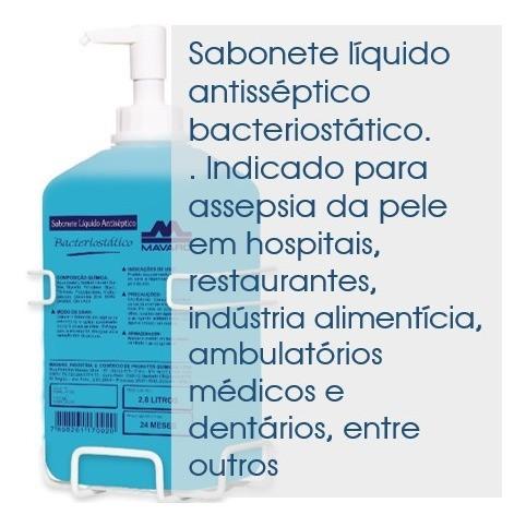 Sabonete líquido Antisséptico Bacteriostático 2,8l