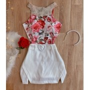 Body Bordado - Floral