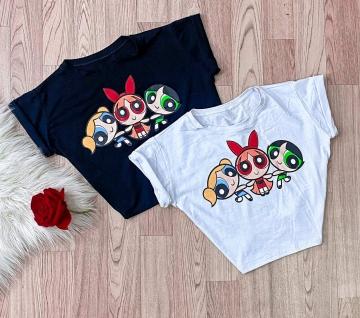 Cropped Blusa T-Shirt Feminina Meninas Super Poderosas