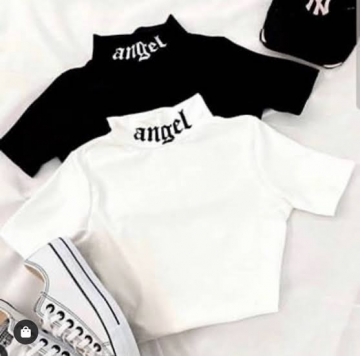 Cropped Feminino Angel
