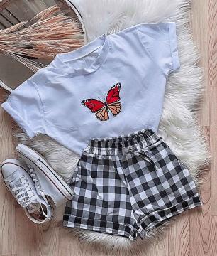Shorts Bengaline Xadrez