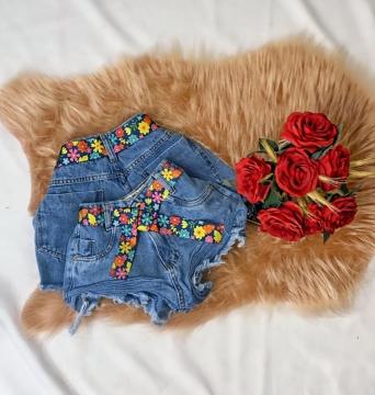 Shorts Jeans Feminino Belle