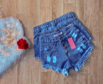Shorts Jeans Feminino Lu