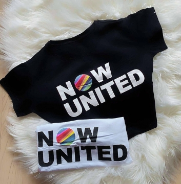T- Shirt Feminina Now United