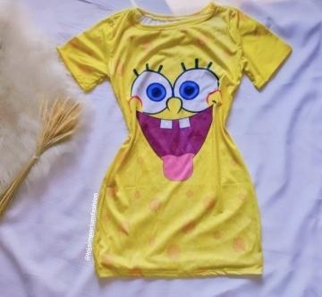Vestido/ Pijama Bob Esponja