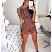 Vestido de Onça