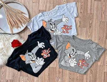 Blusa T-Shirts Tom & Jerry
