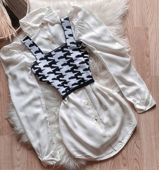 Cropped Feminino Tricot Modal