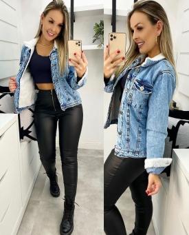 Jaqueta Jeans Feminina Nexo