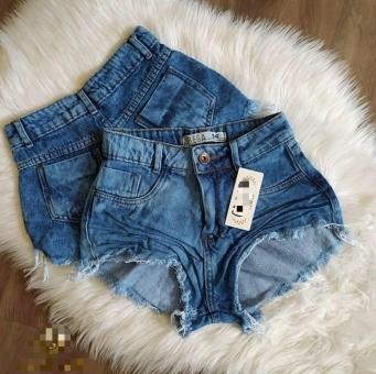 Shorts Jeans Feminino Escuro