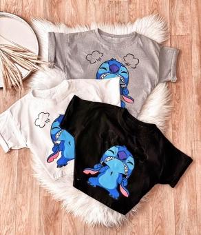 Blusa T-Shirt Feminina Stitch