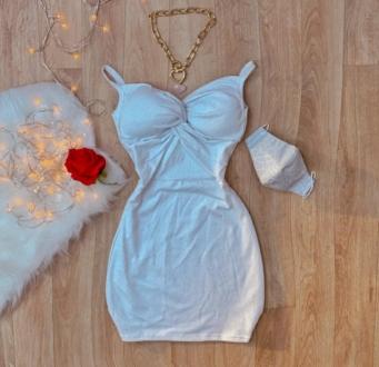 Vestido Feminino Lurex Marianne