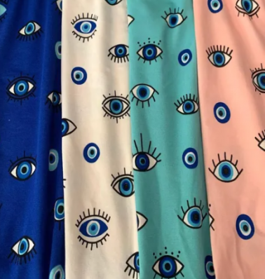 Blusa Feminina Estampa Olho Grego
