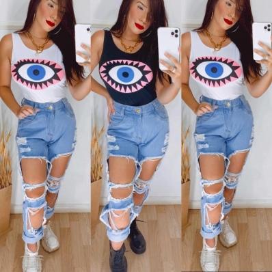 Calça Jeans Feminina Destróier