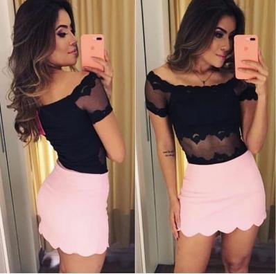 Shorts Saia Nuvem