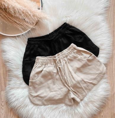 Shorts Feminino Linho