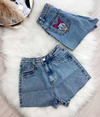 Shorts Feminino Jeans Margarida