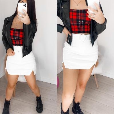 Shorts Saia Feminino com Cinto