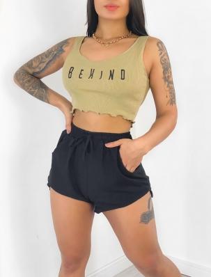 Top Cropped Feminino Be Kind