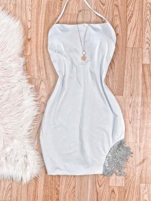 Vestido Feminino Curto com Franja