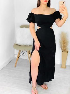 Vestido Feminino Longo Ciganinha