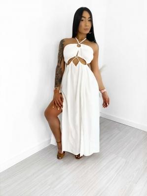 Vestido Feminino Longo Grécia