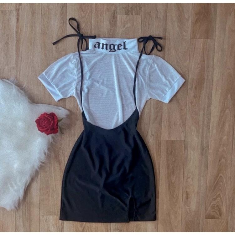 Body de Tule Angel