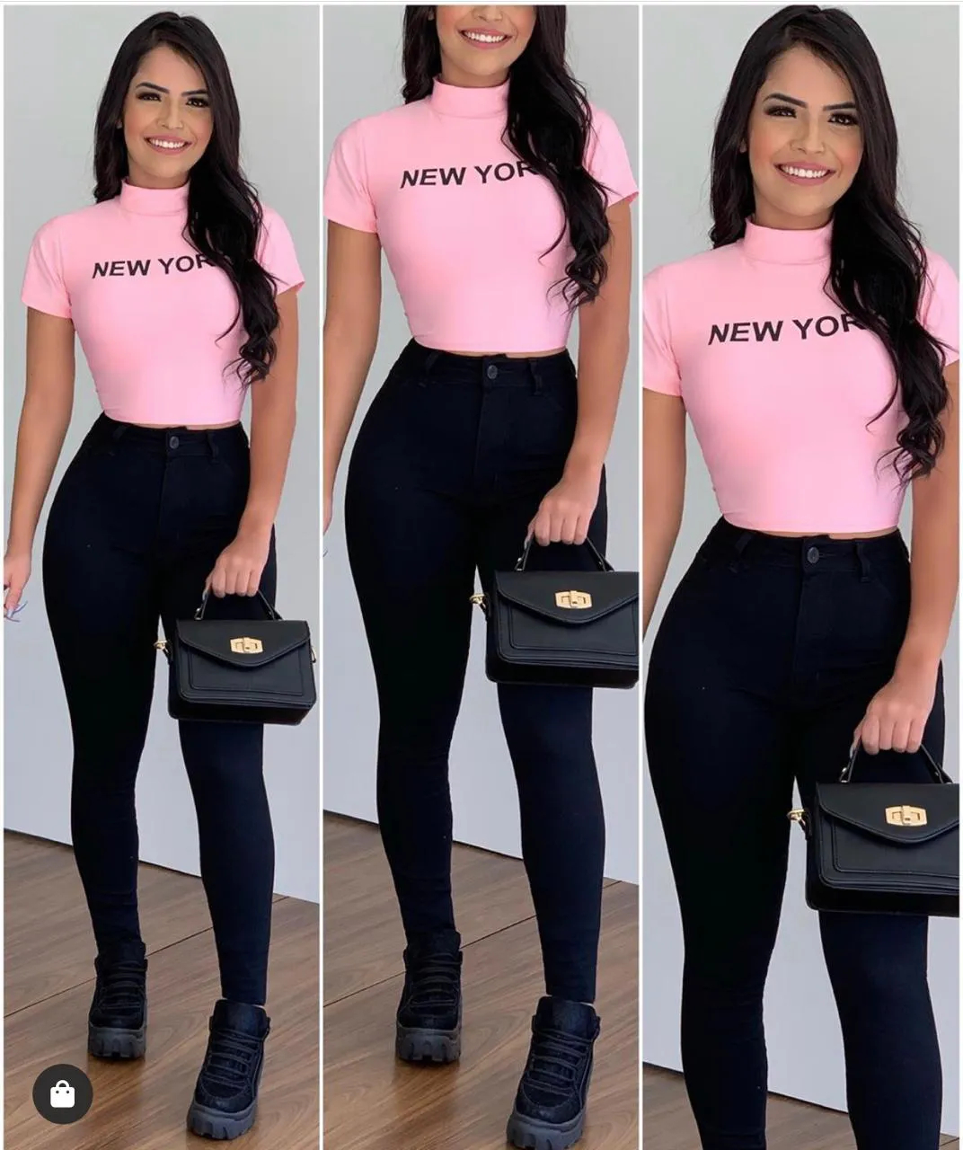 Calça Jeans All Black