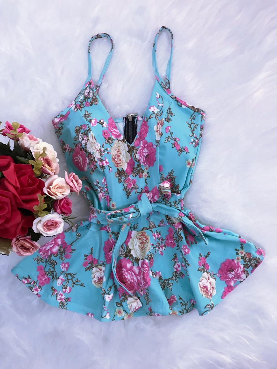 Peplum Floral