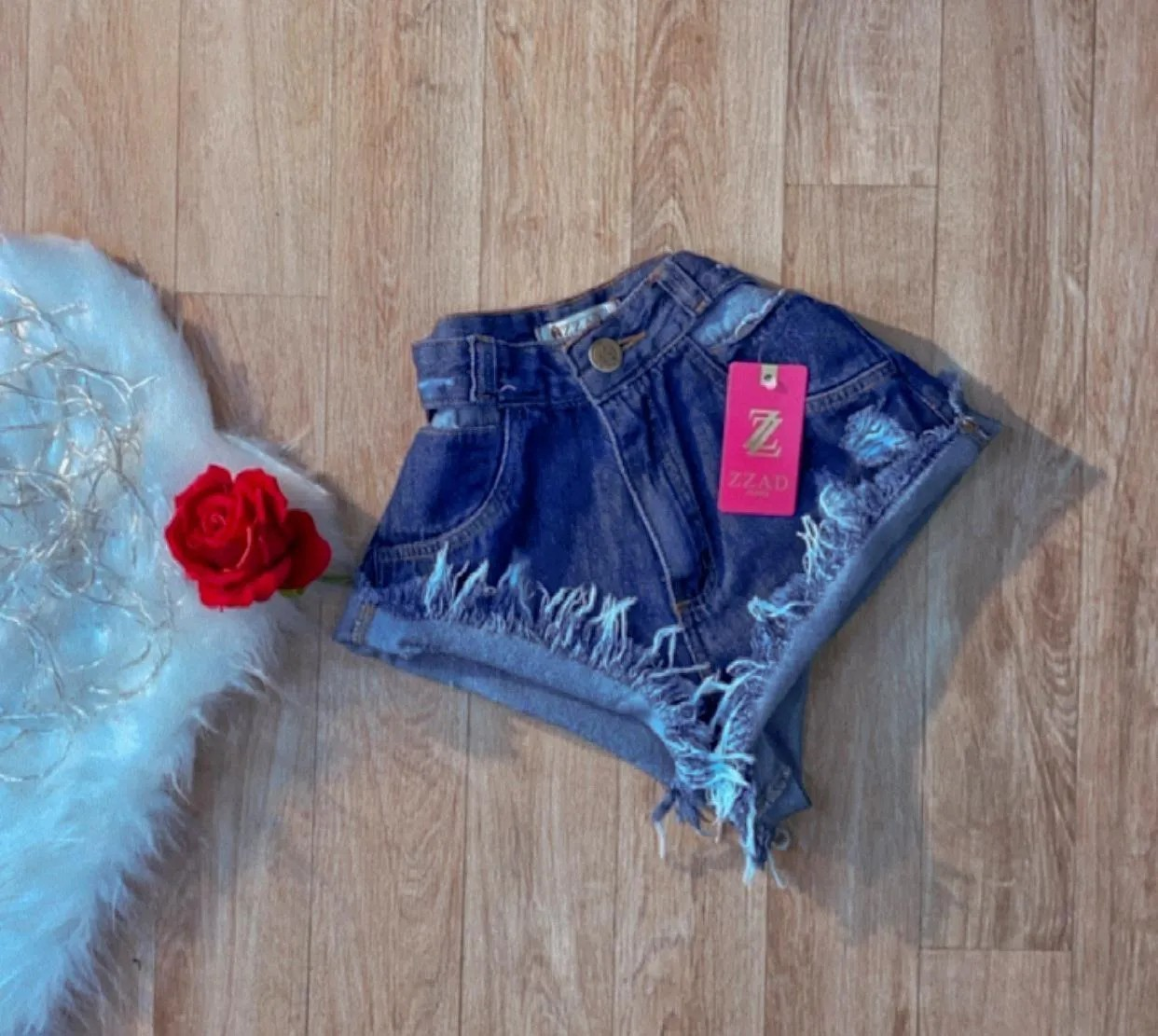 Shorts Jeans Luxo