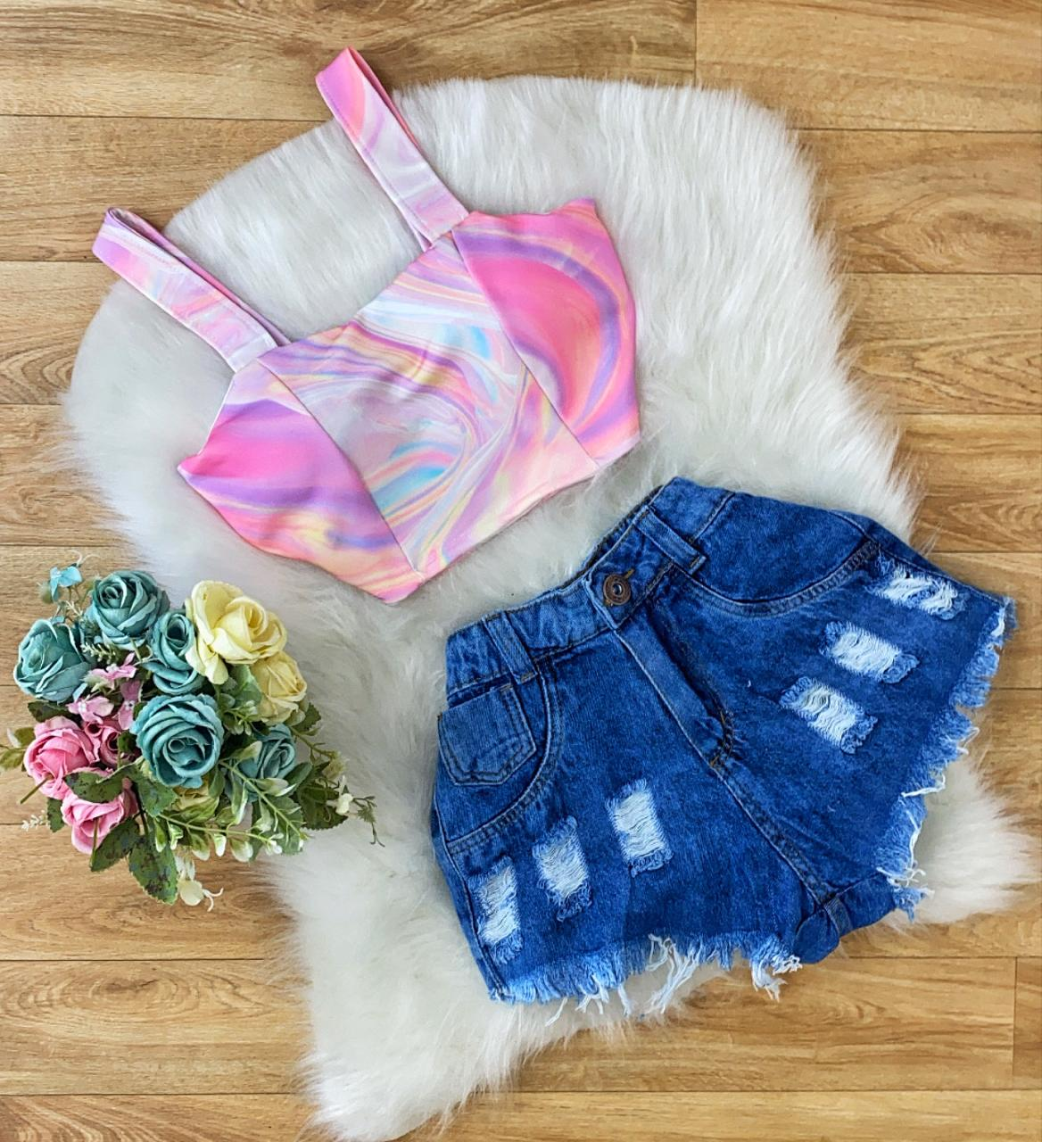 Shorts Jeans Pietra